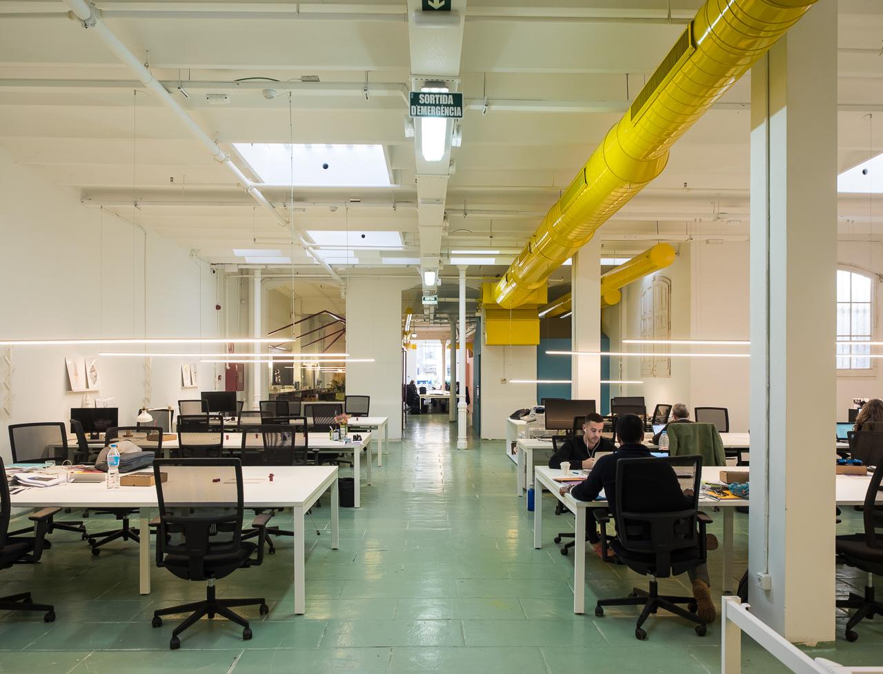Meepstudio interiorismo y dise o de oficinas coworking for Oficinas de fecsa endesa en barcelona