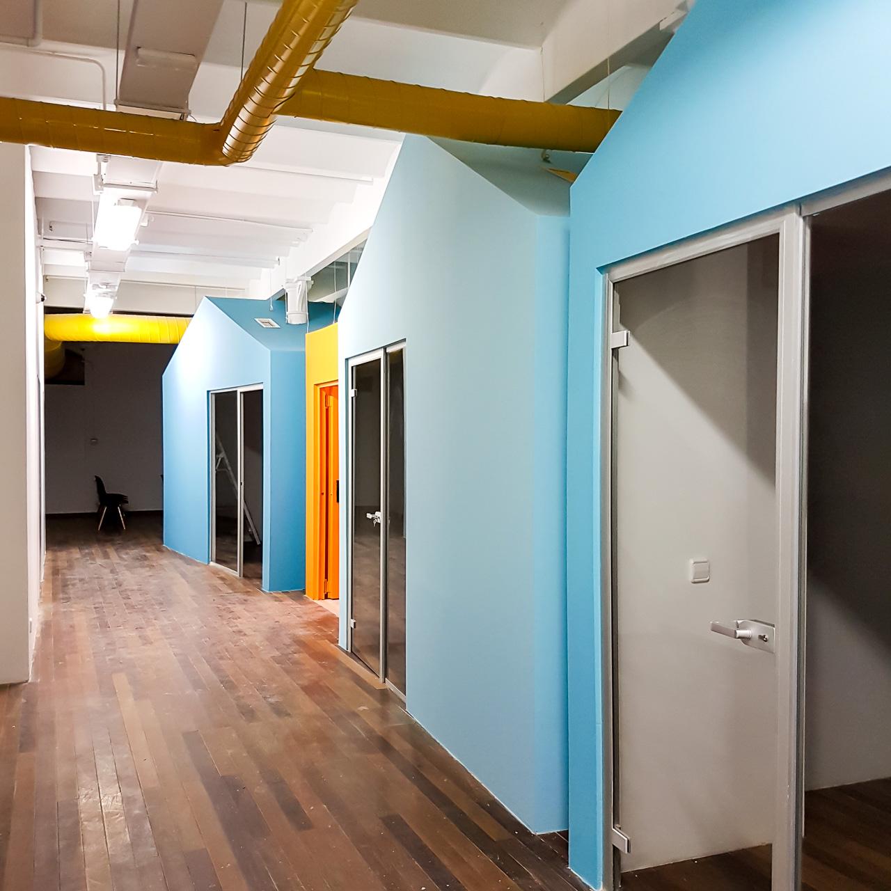 Meepstudio interiorismo y dise o de oficinas coworking en el centro del barcelona - Interiorismo barcelona ...