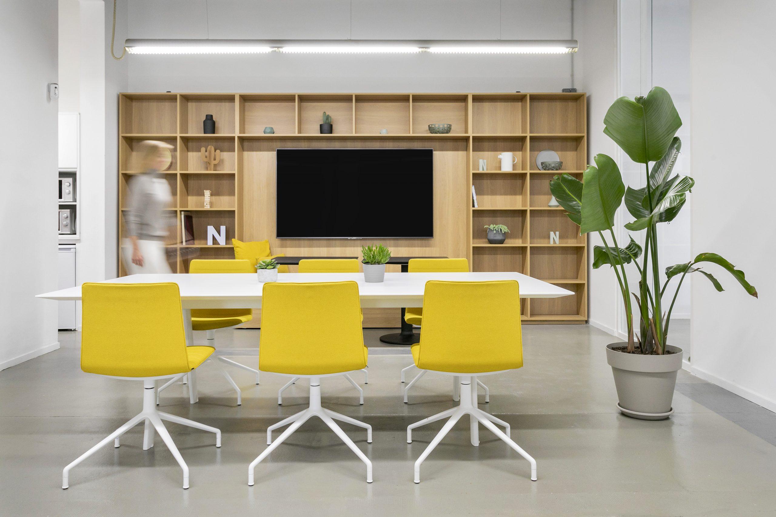Neoland Oficinas Interiorismo Diseño