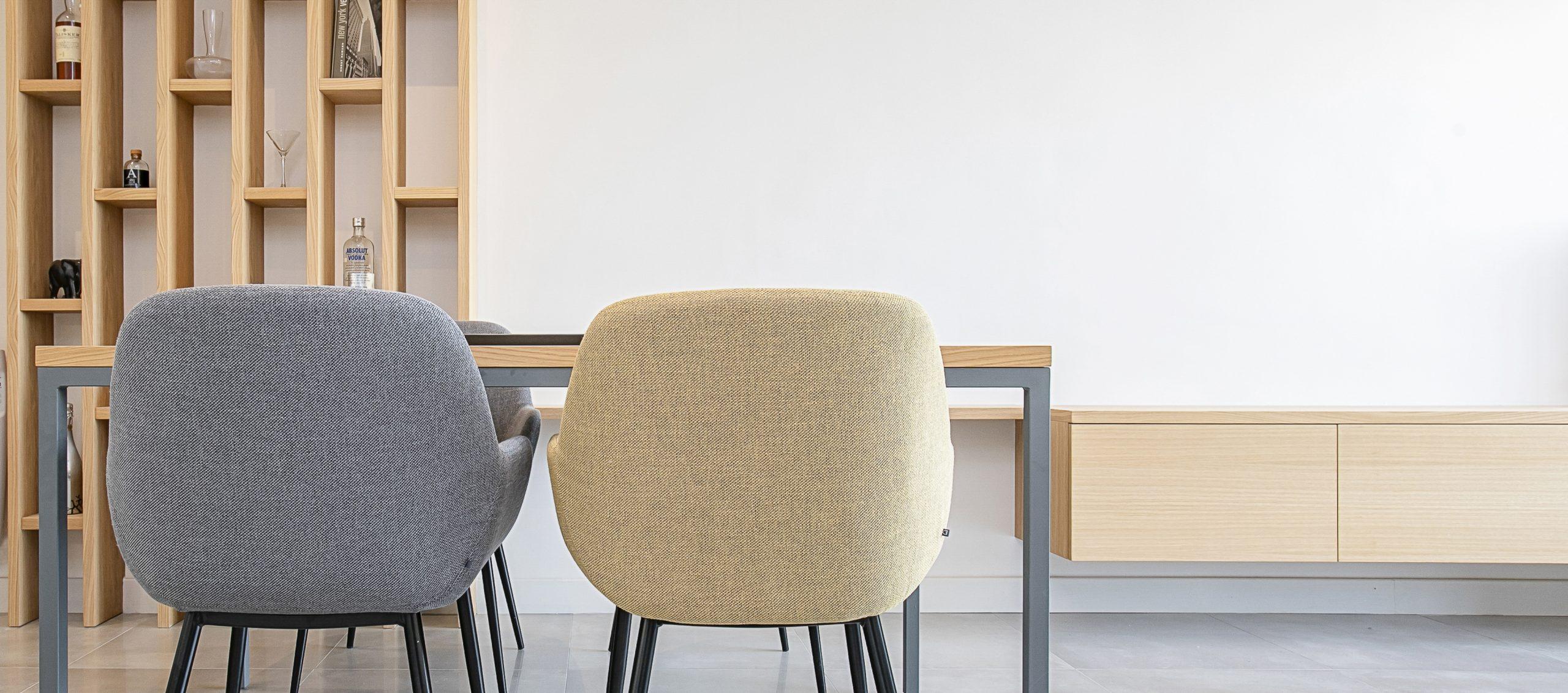Interiorismo Reforma Ático Barcelona Silla Design
